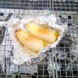 バーベキューで簡単焼きりんご