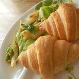 簡単★キャベツとじゃが芋の卵炒めワンプレート