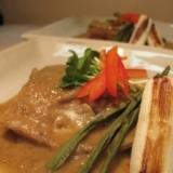 鯖の白ごま味噌煮