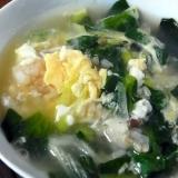 小松菜卵雑炊