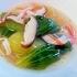 パリパリの麺とあんかけを一緒に♪「野菜のあんかけ焼きそば」献立