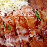 【糖質制限】豚肉の大葉・チーズはさみ焼き★