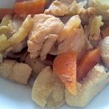作りおきに♪鶏肉&大根&里芋&にんじんの煮物