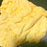 ココナッツミルクで卵焼き