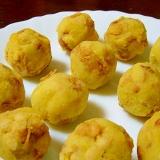 フルグラ入り♪栄養満点お芋ボール