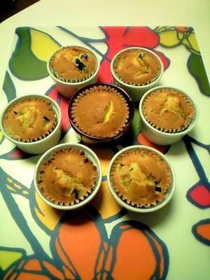 簡単!ホコホコかぼちゃのしっとりカップケーキ♪