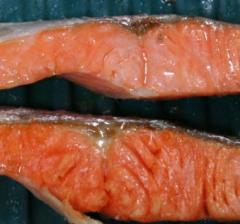 ふしぎなお皿で電子レンジ4分チン!鮭の塩焼き