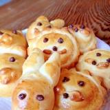 子どもと一緒に作ろう 動物パン