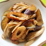 茄子と舞茸の生姜炒め煮
