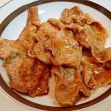 焼き肉のたれとみりんで ❤簡単 豚の生姜焼き❤