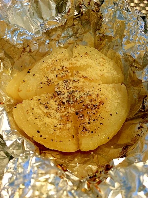 丸ごと玉ねぎホイル焼き. 出典: http//recipe.rakuten.co.jp/recipe/1780014524/