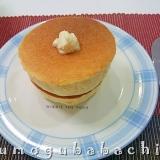 おうちで作るスフレパンケーキ