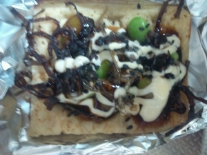 ワッフル(ミックスナッツ)+枝豆