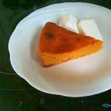もっちり食感 かぼちゃと豆腐のヘルシーケーキ