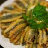 トルコの家庭料理★小イワシのフライ