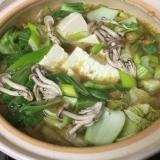 野菜たっぷりカレー鍋
