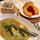 北欧フィンランド♥栄養満点のえんどう豆のスープ