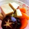 ジュワーと染み出るおだしがたまらない!!「高野豆腐の含め煮」献立