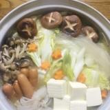 コラーゲンと旨味たっぷり♪白濁の水炊き〜博多風〜