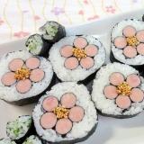 さくらの巻き寿司
