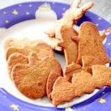 糖質オフ♪ハロウィン★シナモンブランクッキー