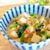 ヘルシーな丼ぶりを♪「豆腐の卵とじ丼」