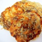 モズクと豆腐のマヨお焼き