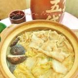 ☆★塩辛いキムチで豚バラ鍋♩★☆