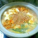ピリ辛坦々鍋