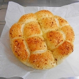 ハム&バジル&チーズのちぎりパン