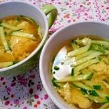 簡単♪キュウリのスープ