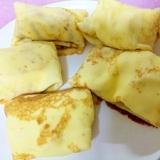 バナナクレープ