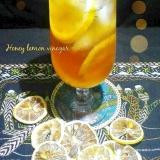 ★☆疲労回復蜂蜜レモン酢ドリンク♪★☆