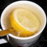 蜂蜜ホッとレモン