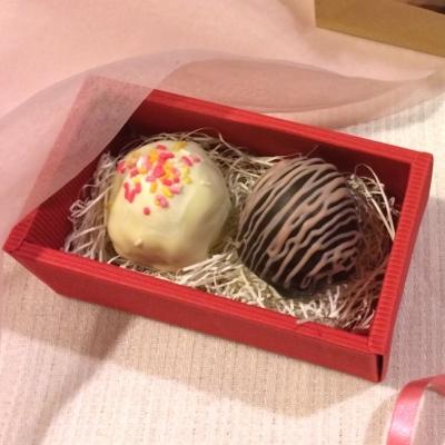 チョコの中からまたチョコ!?おしゃれな「ベルチョコ」はバレンタインにぴったり