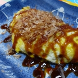 シャキシャキ☆材料3つで広島風お好み焼きオムレツ