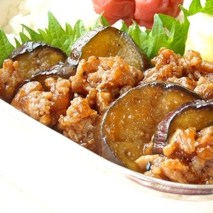 焼肉風味の麻婆茄子