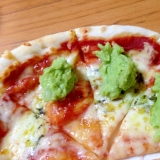 フレッシュアボカドのピザ