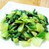 チンゲン菜のガーリック炒め