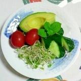 アボガドのサラダ~♪