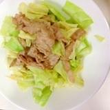 【糖尿病食】200kcalキャベツと豚の生姜焼き