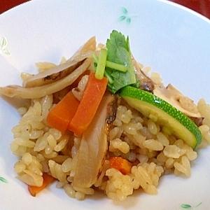 ★松茸ご飯 家庭風と料亭風