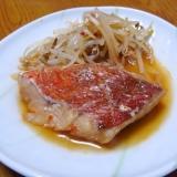ズボラdeピリ辛☆赤魚の煮付け