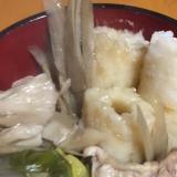 我が家の冬の定番♪きりたんぽ鍋