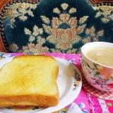 ジャム珈琲とパン