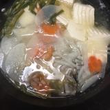 アンコウの水炊き