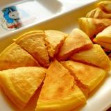 米粉でかぼちゃのパンケーキ(卵、小麦、乳なし)
