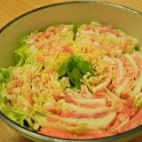 白菜と豚肉のミルフィーユ鍋☆
