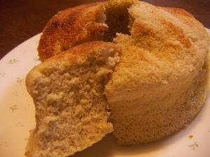 ノンオイル☆卵1個で米粉のヨーグルトシフォンケーキ