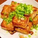 ご飯がススム☆豆腐のコッテリ炒め